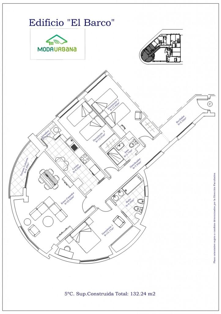 Nueva construcci n edificio viviendas zona arabial - Cocinas el barco granada ...